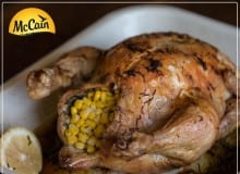 Summer Style Corn Roast Chicken