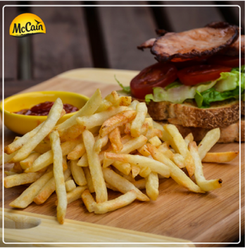 McCain Shoestring Fries And A Blt