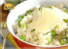 Easy Pea-sy Risotto