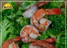 Stir Fried Prawns And Broccoli