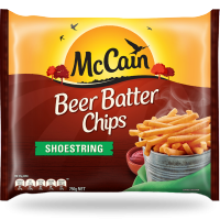 Beer Batter Shoestring Chips 750g