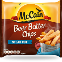 Beer Batter Steak Cut Chips 750g