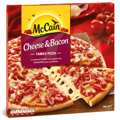 Cheese & Bacon Family Pizza