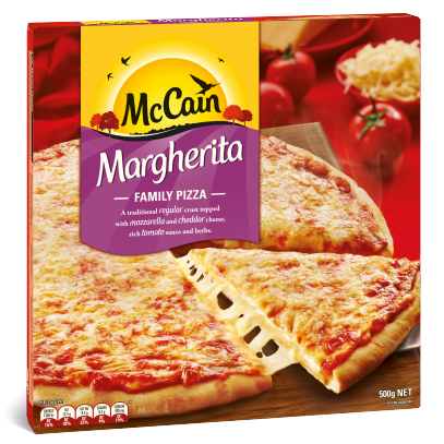 Margherita Family Pizza