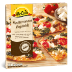 Ultra Thin Mediterranean Vegetable Pizza 310g