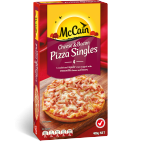 Cheese & Bacon Pizza  singles 400g