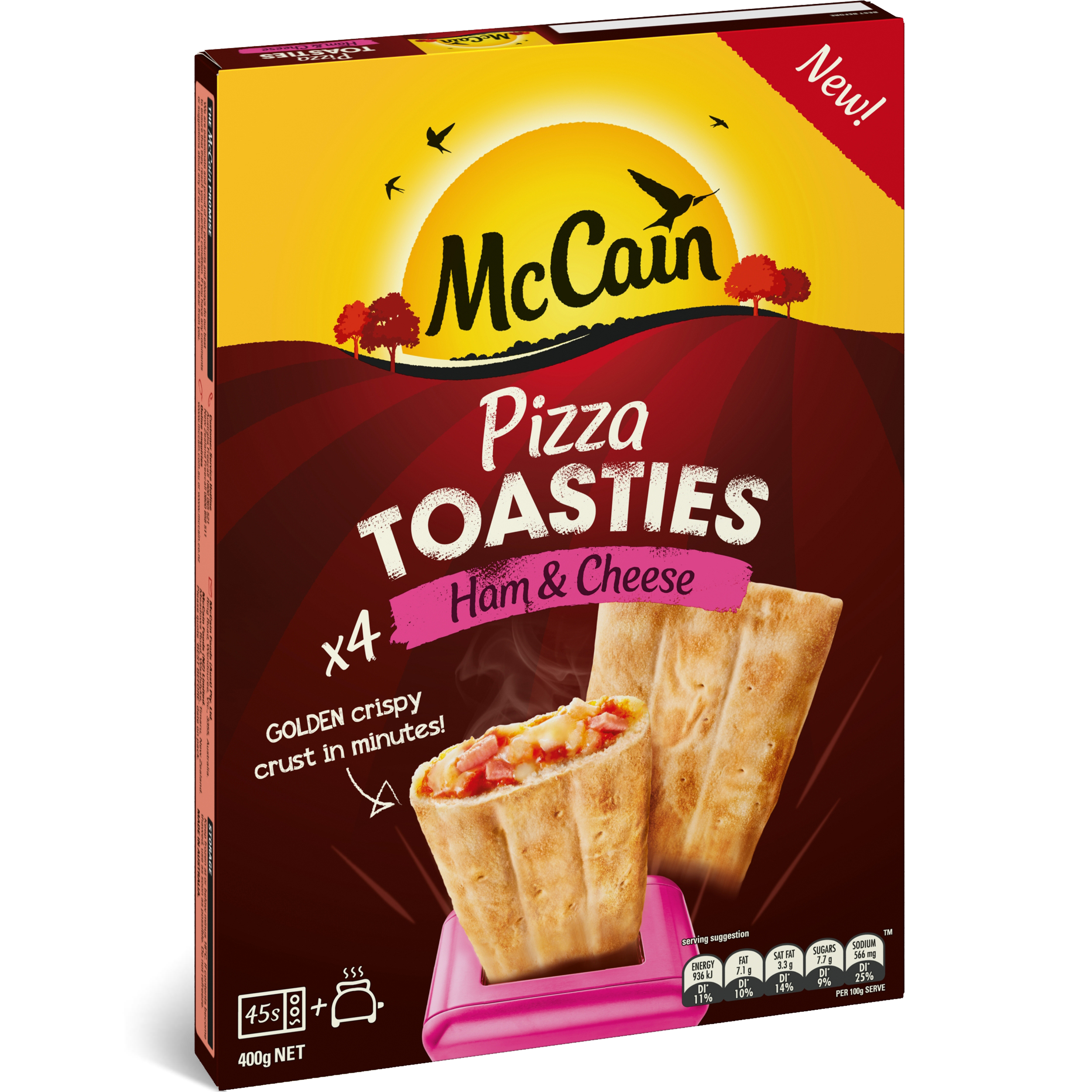 how to cook mccain pizza singles