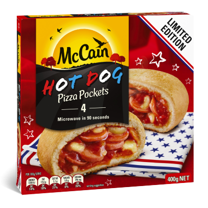 Hot Dog Pizza Pocket