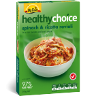 Healthy Choice Spinach & Ricotta Ravioli 390g