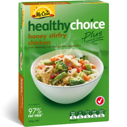 Healthy Choice Plus Honey Stirfry Chicken 420g