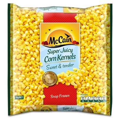 Super Juicy Corn Kernels