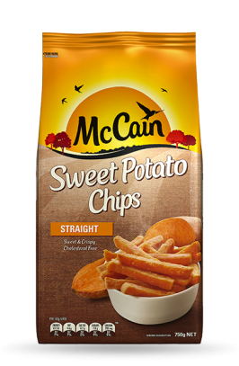 Sweet Potato Straight Chips