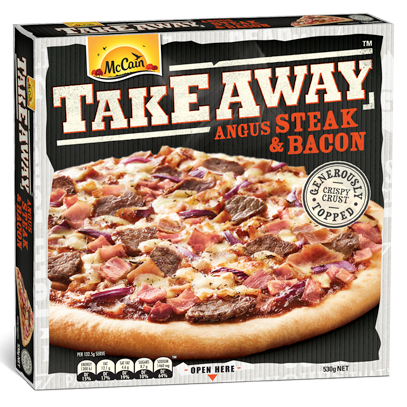 Takeaway Angus Steak & Bacon