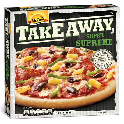 Takeaway Super Supreme