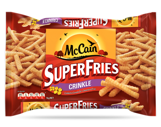 SuperFries Crinkle Cut Chips