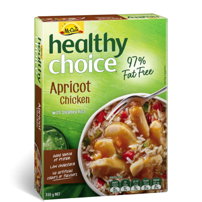 Healthy Choice Apricot Chicken