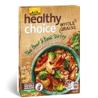 Healthy Choice Wholegrains Thai Beef & Basil Stir Fry with Brown Rice and Quinoa 340g
