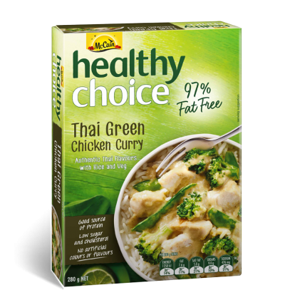 Healthy Choice Thai Green Curry
