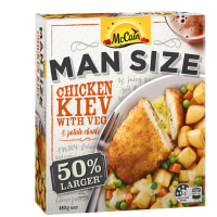 Man Size Chicken Kiev