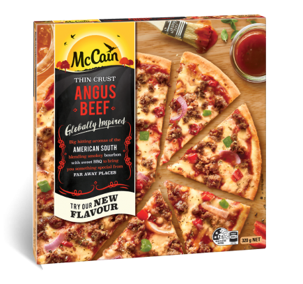 Ultra Thin Angus Beef Pizza