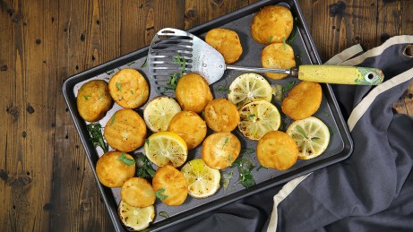 Crispy Zesty Roast Potatoes