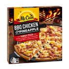 BBQ Chicken and Pineapple Family Pizza 500g