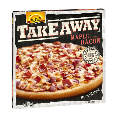 Takeaway Maple Flavoured Bacon