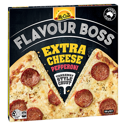 Flavour Boss Extra Cheese Pepperoni