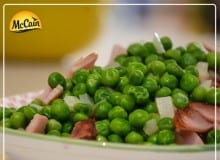 Peas, Onion And Bacon