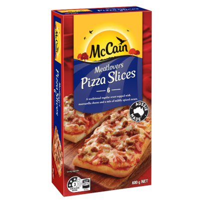 Meatlovers Pizza Slices