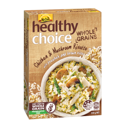 Healthy Choice Whole Grains Chicken & Mushroom Risotto