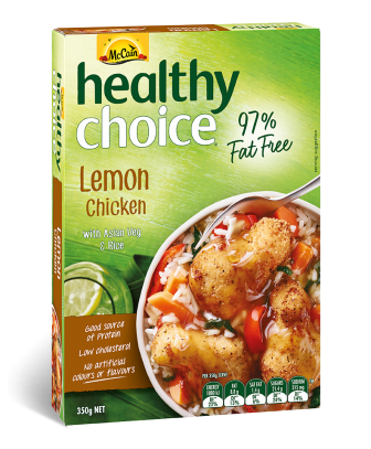 Healthy Choice Lemon Chicken
