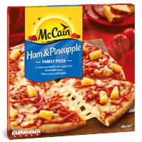 Ham & Pineapple Family Pizza 500g