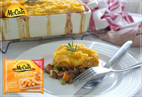 Pumpkin Shepherd's Pie
