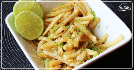 Lime & Cracked Pepper Fries