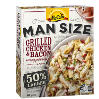 Man Size Chicken & Bacon Bake