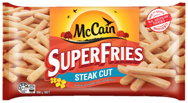 SuperFries Steak Cut Chips