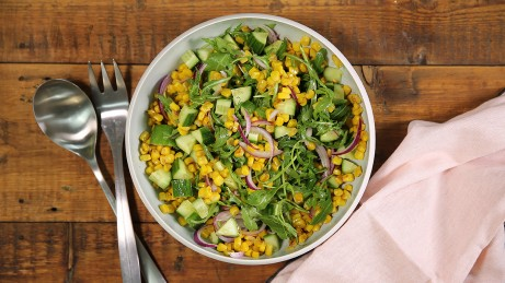 Charred Corn Summer Salad