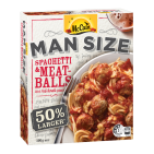 Man Size Spaghetti and Meatballs