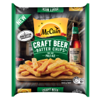 Craft Beer Batter Steak Cut Chips John Boston Pale Ale